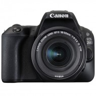 Canon EOS 200D Kit (18-55 IS STM) Black