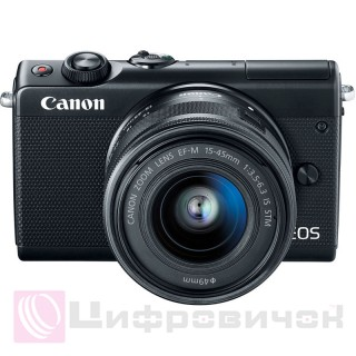 Canon EOS M100 Kit (15-45mm IS STM) Black