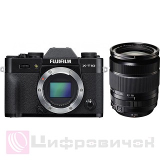 Fujifilm X-T10 Kit XF 18-135mm F3.5-5.6R Black