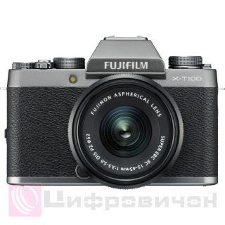 Fujifilm X-T100 Kit (15-45mm) Dark Silver