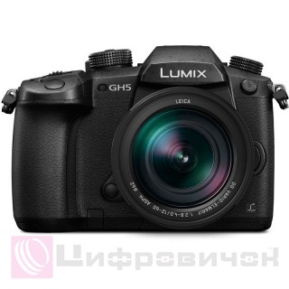 Panasonic Lumix DC-GH5 Kit 12-60mm Black