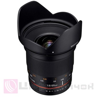 Samyang 20mm f/1.8 ED AS UMC Canon