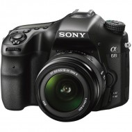 Sony Alpha a68 kit 18-55mm Black