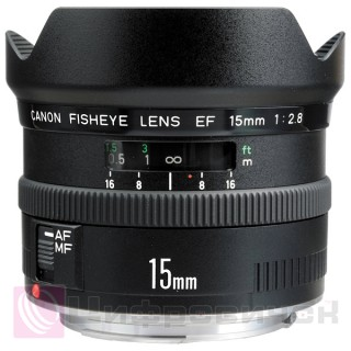 Canon EF 15mm f 2.8 Fisheye