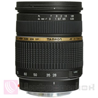 Tamron AF SP 28-75mm F2,8 Di XR LD Aspherical (IF) Macro for Canon