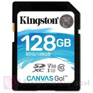 Kingston 128 GB SDXC class 10 UHS-I U3