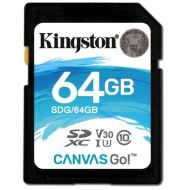 Kingston 64GB SDXC C10 UHS-I U3 R90/W45MB/s