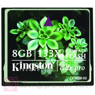 Kingston 8 Gb 133x CompactFlash Card