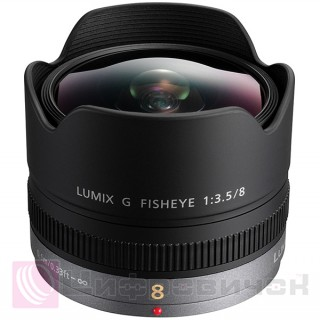 Panasonic 8mm f/3.5 FishEye