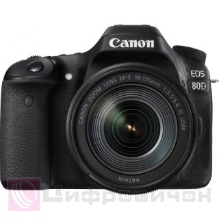 Canon EOS 80D Kit (18-135 IS USM)