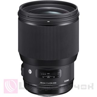 Sigma 85mm f/1.4 EX DG HSM Art for Canon