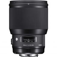 Sigma 85mm f/1.4 EX DG HSM Art for Sony