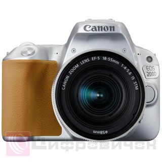 Canon EOS 200D Kit (18-55 IS STM) Silver