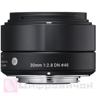 Sigma AF 30mm f/2.8 DN ART Black for MFT