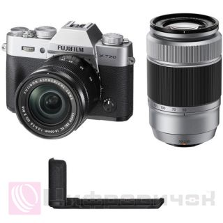 Fujifilm X-T20 Kit 16-50mm + 50-230mm Silver