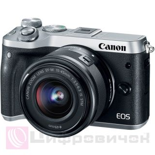 Canon EOS M6 Kit (15-45 IS STM) Silver