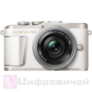 Olympus PEN E-PL9 Kit (14-42mm) White/Silver