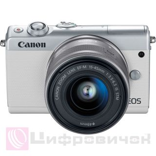 Canon EOS M100 Kit (15-45mm IS STM) White
