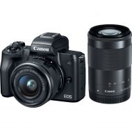 Canon EOS M50 Kit (15-45mm + 55-200mm) Black