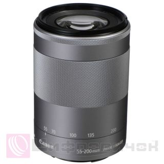 Canon EF-M 55-200mm f 4.5-6.3 IS STM Silver