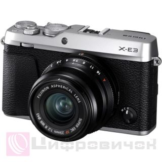 Fujifilm X-E3 Kit 23mm f/2 Silver