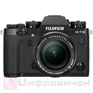 Fujifilm X-T3 Kit (18-55mm) Black