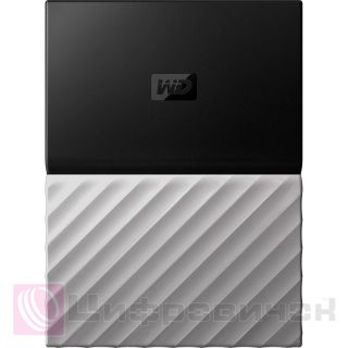 Western Digital My Passport Ultra 2.5, 1Tb (WDBTLG0010BGY-WESN) Black-Gray