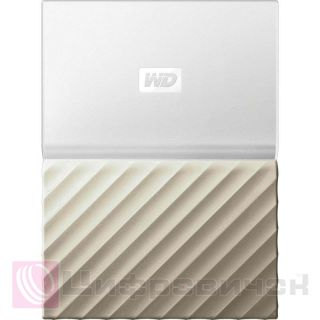 Western Digital My Passport Ultra 2.5, 1Tb (WDBTLG0010BGD-WESN) White-Gold1