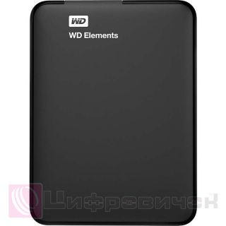 Western Digital Elements Portable 2.5 2Tb (WDBU6Y0020BBK-WESN) External Black