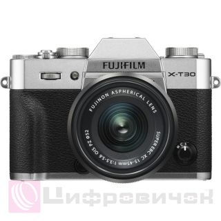 Fujifilm X-T30 Kit XC 15-45mm F3.5-5.6 Silver