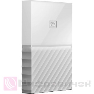 Western Digital My Passport 2.5 4Tb (WDBYFT0040BWD-WESN) External White