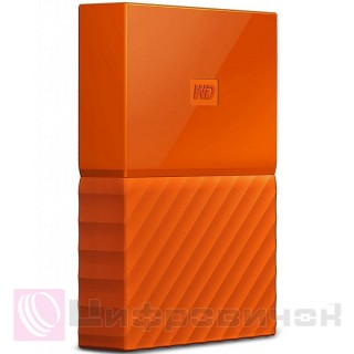 Western Digital 2.5 4TB (WDBYFT0040BOR-WESN) External Orange