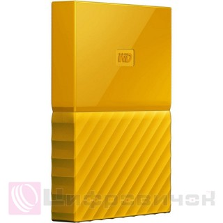 Western Digital My Passport 2.5 1Tb (WDBYNN0010BYL-WESN) External Yellow