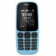 Nokia 105 Single Sim New (2017) Blue