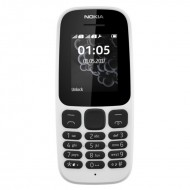 Nokia 105 Single Sim New (2017) White