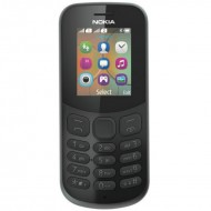 Nokia 130 Dual Sim New (2017) Black