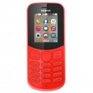 Nokia 130 Dual Sim New (2017) Red