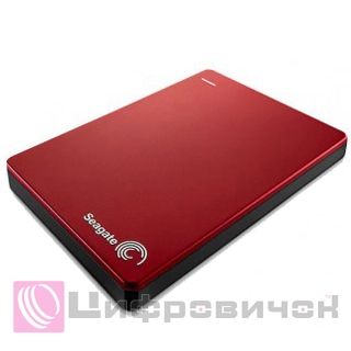 "Seagate Backup Plus Portable 2.5"", 1Tb (STDR1000203) Red"