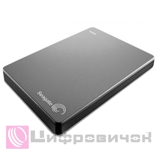 "Seagate Backup Plus Portable 2.5"", 1Tb (STDR1000201) Silver"