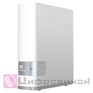 "Western Digital My Cloud 3.5"", 2Tb (WDBCTL0020HWT) LAN White"