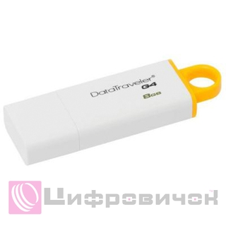 Kingston Flash Drive DT G4 8GB (DTIG4/8GB)