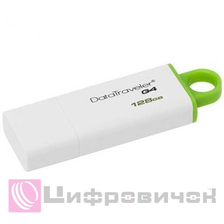 Kingston Flash Drive DT G4 128GB (DTIG4/128GB)