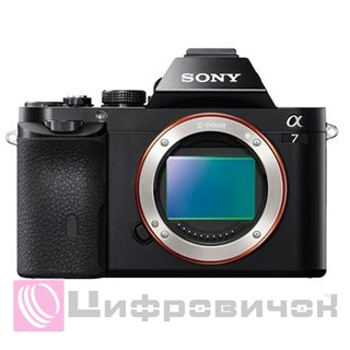 Sony Alpha 7 Body Black