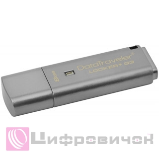 Kingston DataTraveler Locker+ G3 8GB (DTLPG3/8GB)