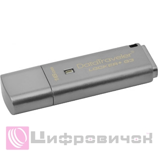 Kingston DataTraveler Locker+ G3 16GB (DTLPG3/16GB)