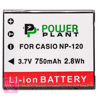 PowerPlant Casio NP-120