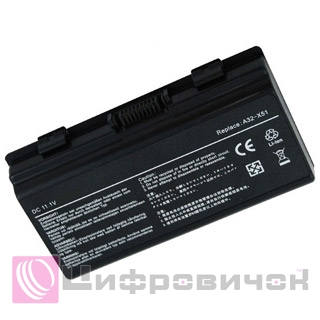 PowerPlant Asus X51H (A32-T12, AS5151LH) 11.1V, 5200mAh
