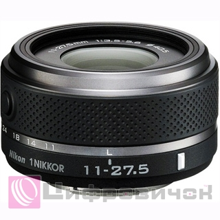 Nikon 1 Nikkor 11-27.5mm f 3.5-5.6 Black