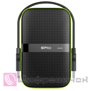 "Silicon Power Armor A60 2.5"", 1Tb (SP010TBPHDA60S3K) Black"