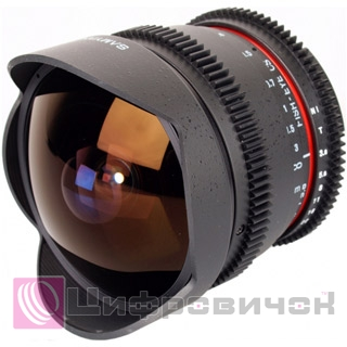 Samyang 8mm T3.8 AS IF UMC Fish-eye CS II VDSLR Sony A